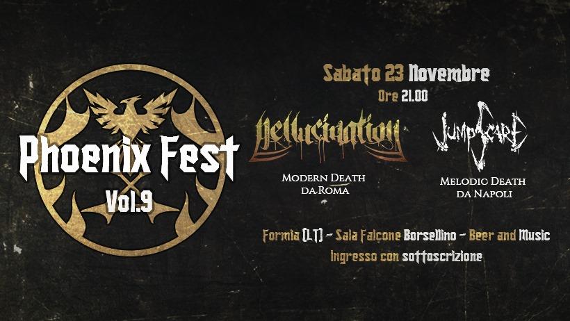 """In arrivo a Formia i concerti di """"Jumpscare"""" e """"Hellucination"""" - Tutto Golfo"""